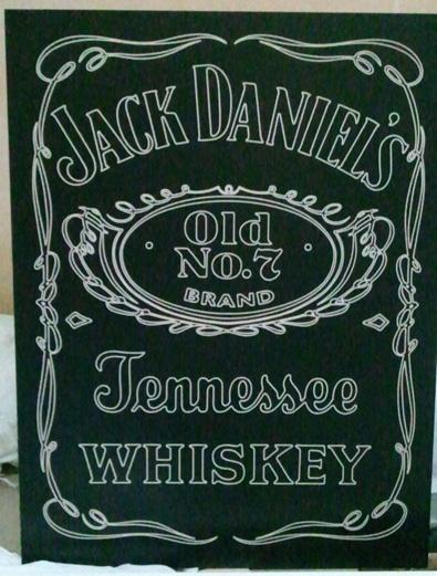 Grabado de Logotipo de JACK DANIELS
