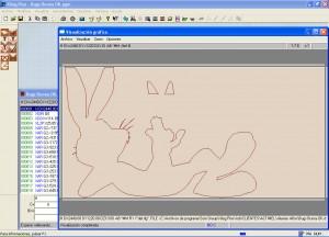 Mecanizado de siluetas dibujos animados  Diseo programacin y