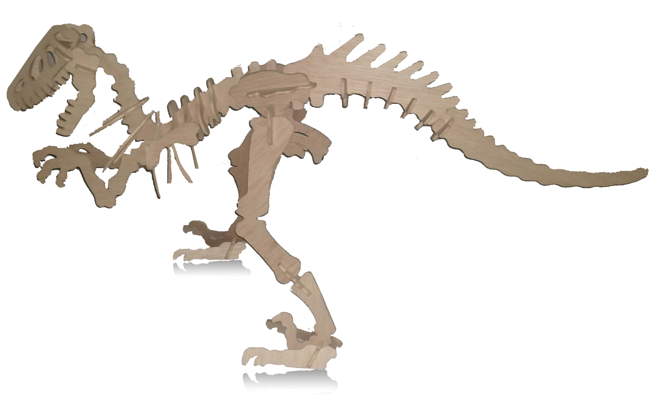 Puzzle 3D T-Rex