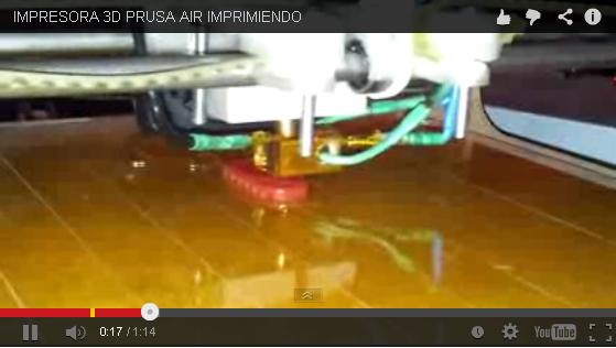 Finalizacion de Impresora 3D Prusa Air