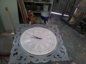 Reloj BigBen  montado