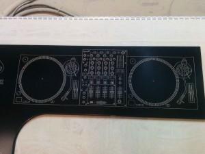 Encimera DJ CNC
