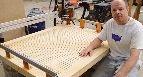 Como construir una mesa de vacio para cnc