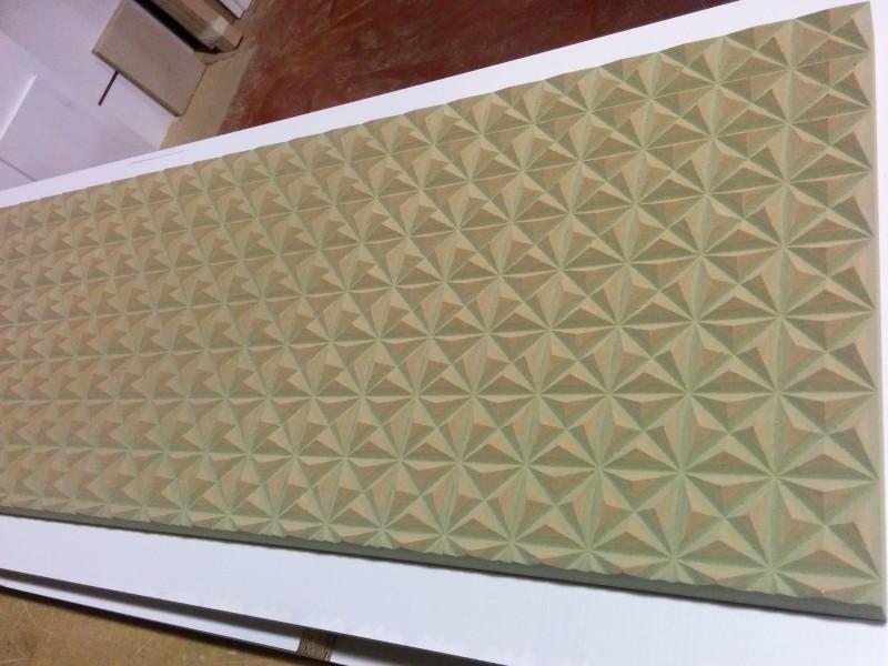 Mecanizado de paneles con relieve dise o programaci n y - Paneles con relieve para paredes ...