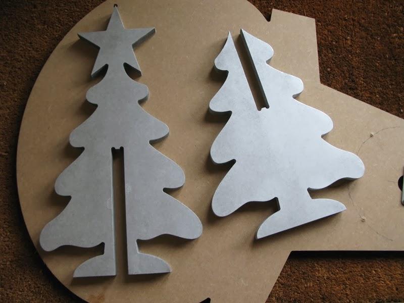 Mecanizar Arbol de Navidad