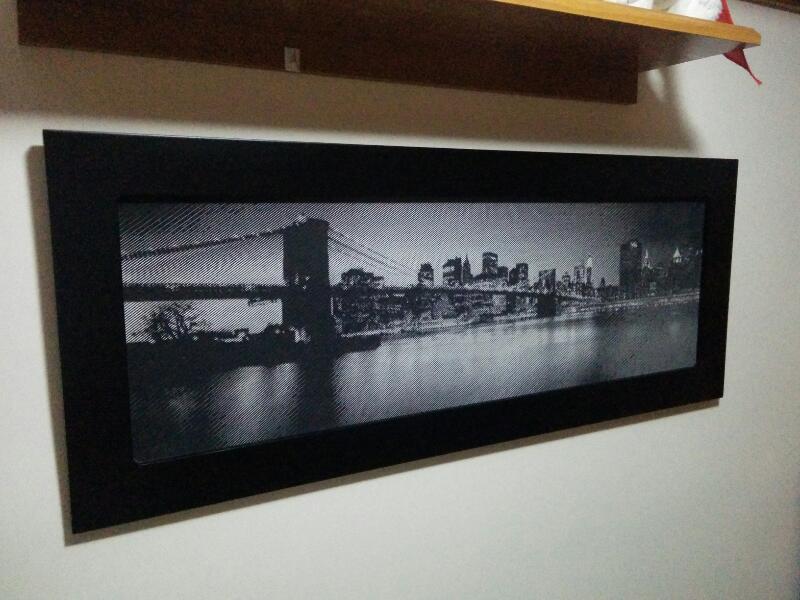 Fotograbado puente de Brooklyn