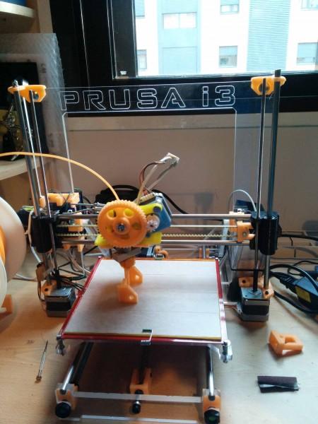 Impresora 3D Prusa 3I PowerCode