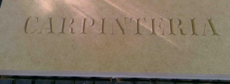 Curso cnc cartel carpinteria