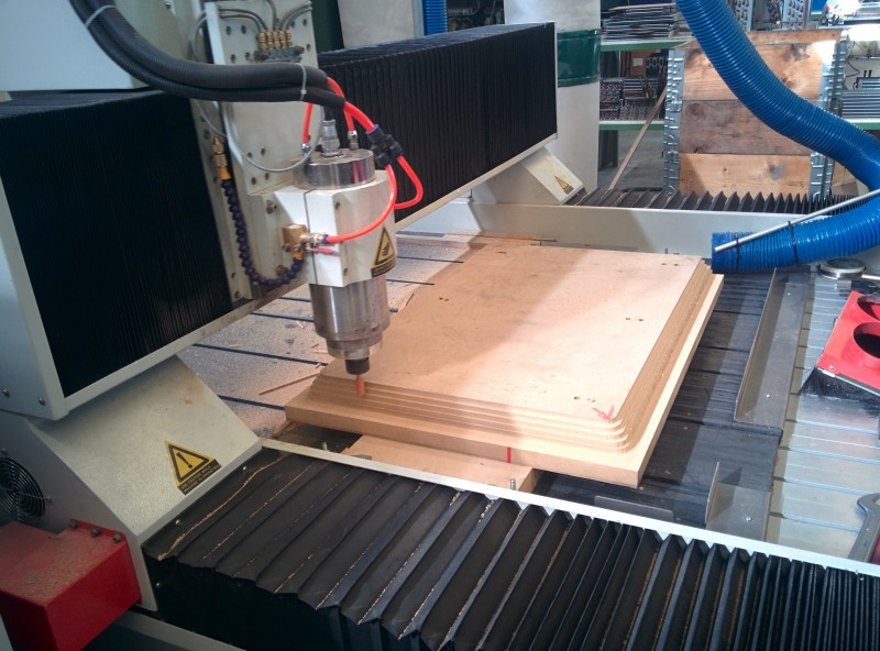 Mecanizado 3d CNC con Aspire de Vectric