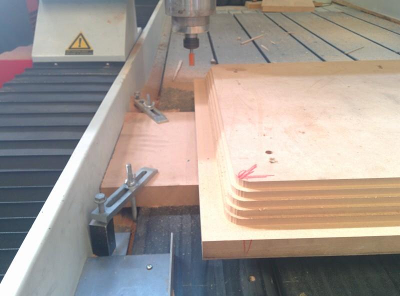 Mecanizado 3d CNC Desbaste