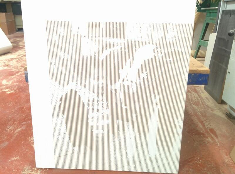 Fotografia grabada en madera