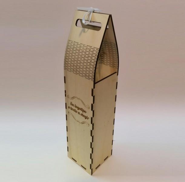 Cajas de vino personalizadas Diseo programacin y cursos CNC