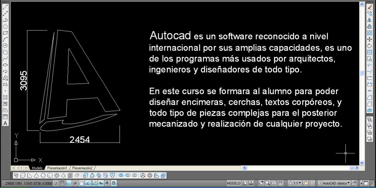 Cursos Autocad para CNC