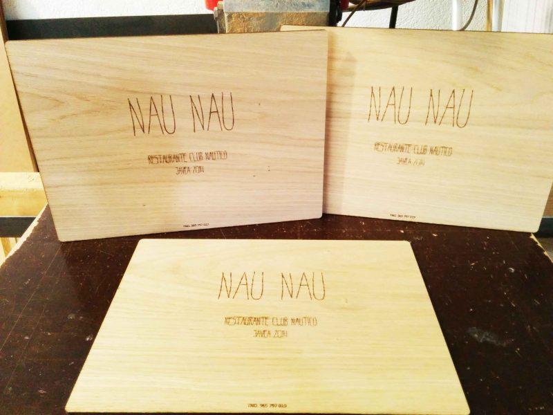Cartas de menu para restaurante