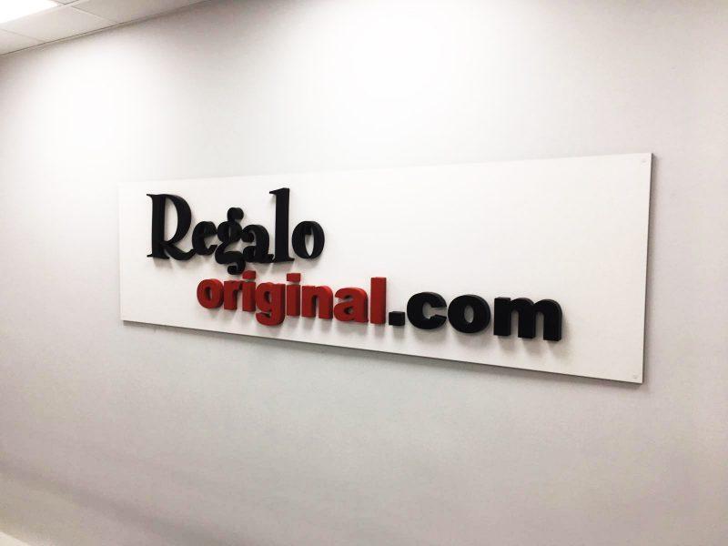 Rotulo para oficinas de Regalo Original