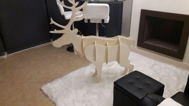 Reno para decoración de navidad