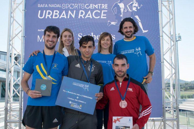 Medallas para carrera solidaria del Rafa Nadal Sports Centre