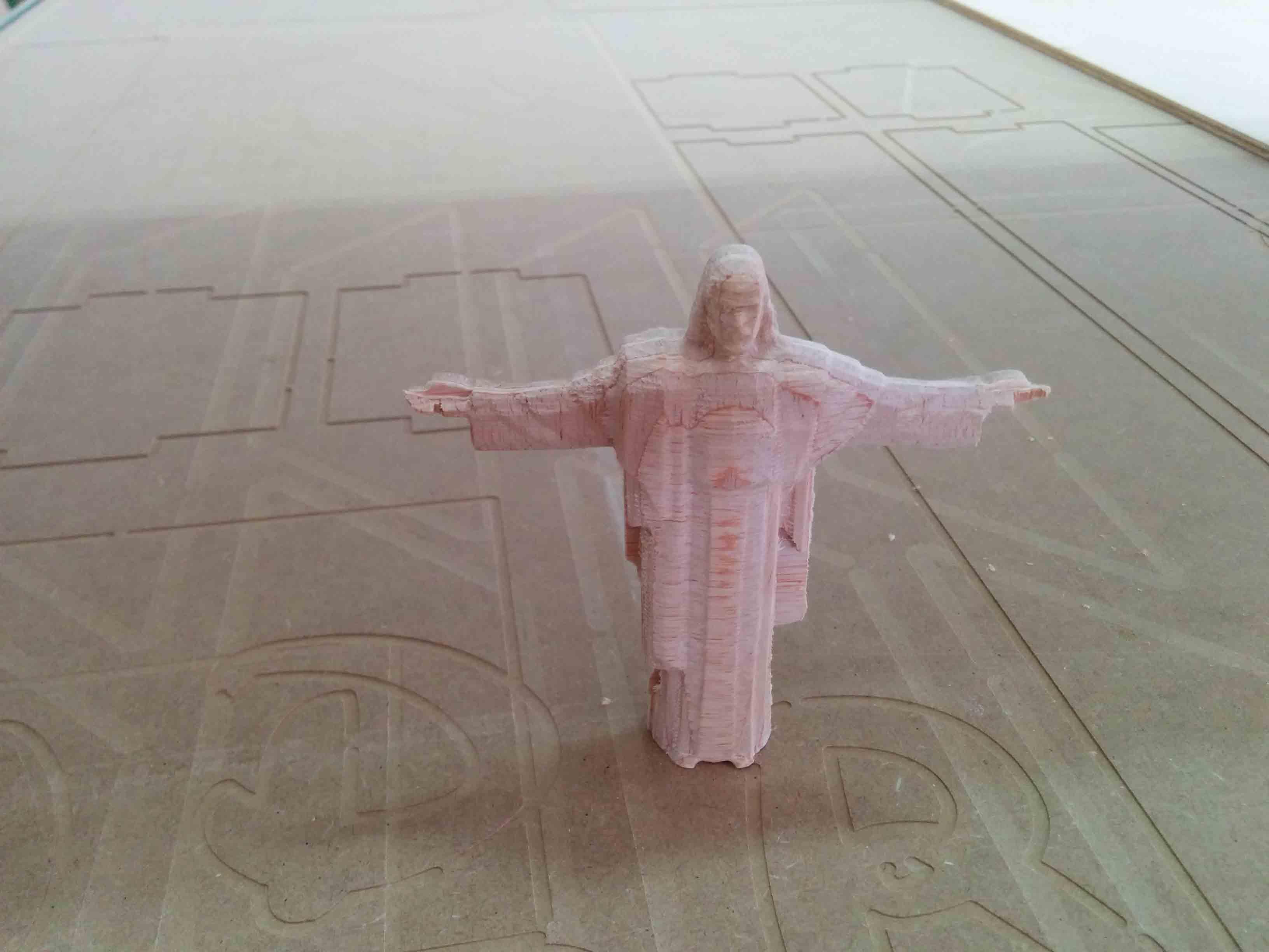 Mecanizado 3D Cristo