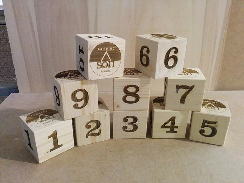 Números para mesas de restaurante