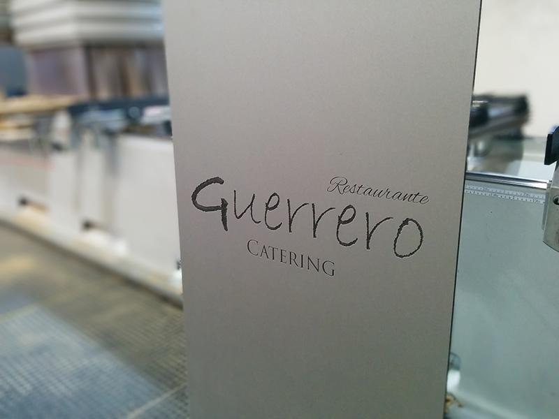 Cartel catering restaurante