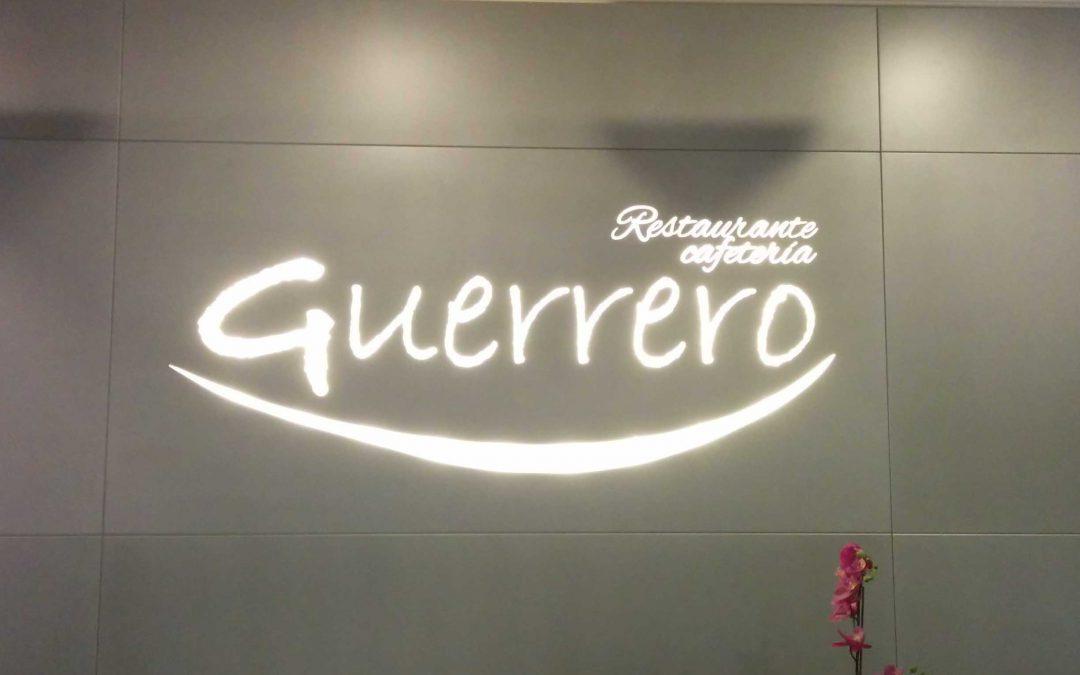 Rotulo Retroiluminado Restaurante Guerrero