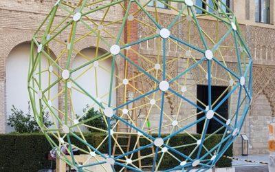 Fabricación de cúpula geodésica