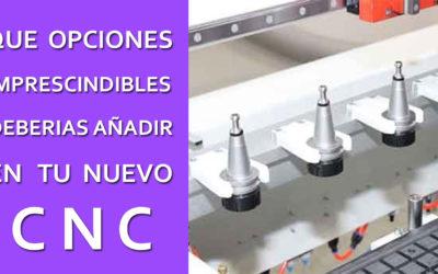 Comprar un CNC – la importancia del cambio de herramienta automatico
